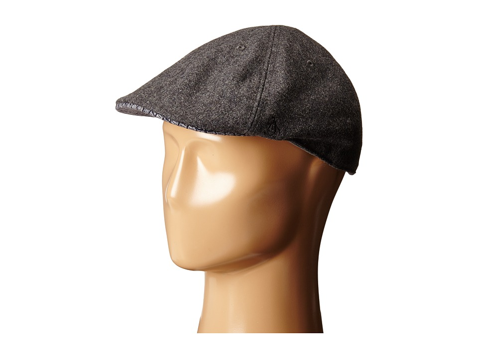 Original Penguin - Wool Six Panel Driver (Charcoal Heather) Driving Hats