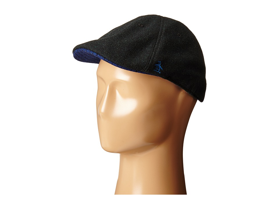 Original Penguin - Wool Six Panel Driver (Black) Driving Hats