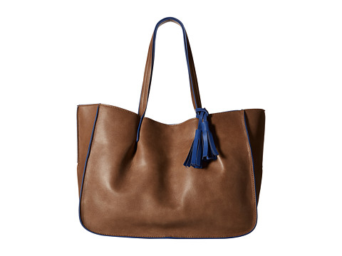 Big Buddha - Ariana (Dark Taupe/Blue) Tote Handbags