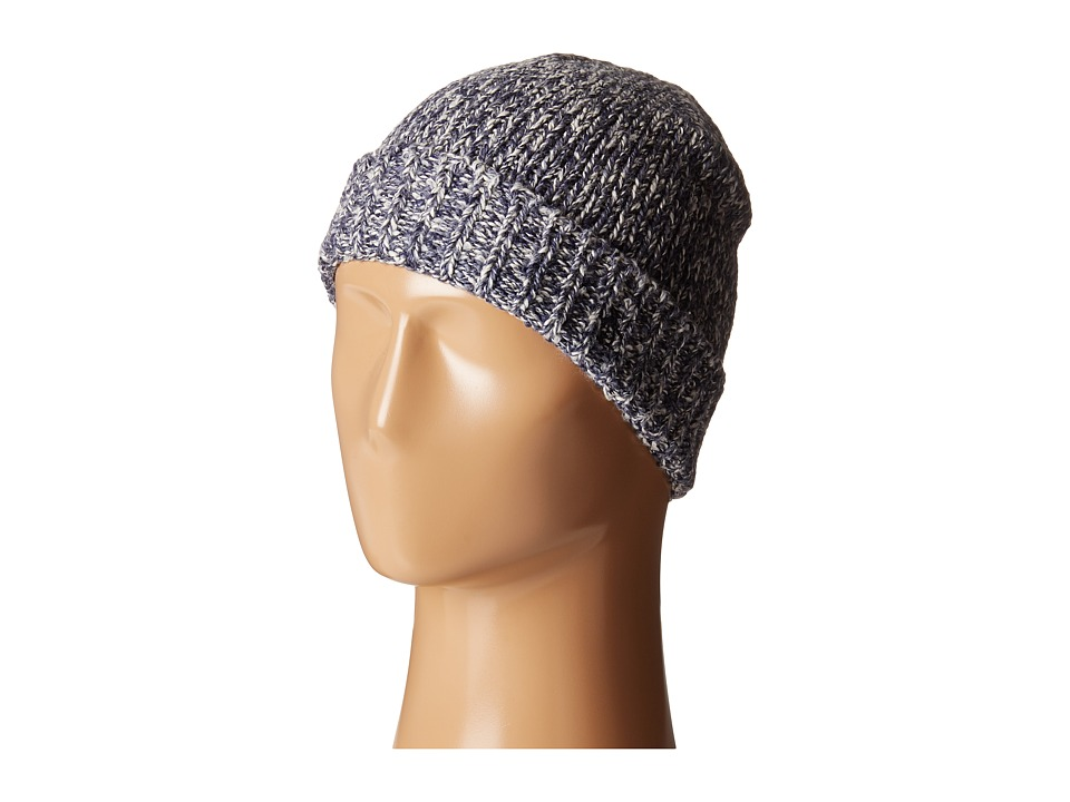 Original Penguin - Melange Knit Watch Cap (Dark Saphire) Caps