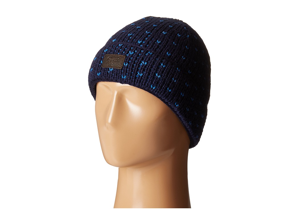 Original Penguin - Birds Eye Knit Watch Cap (Dark Saphire) Caps