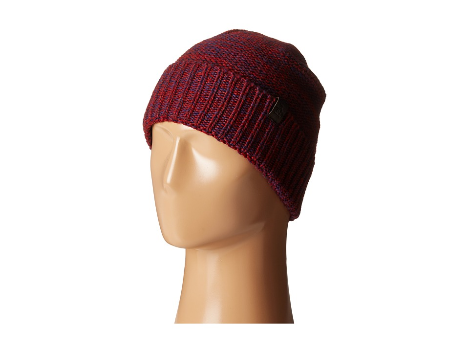 Original Penguin - Variegated Knit Watch Cap (Pomegranate) Caps