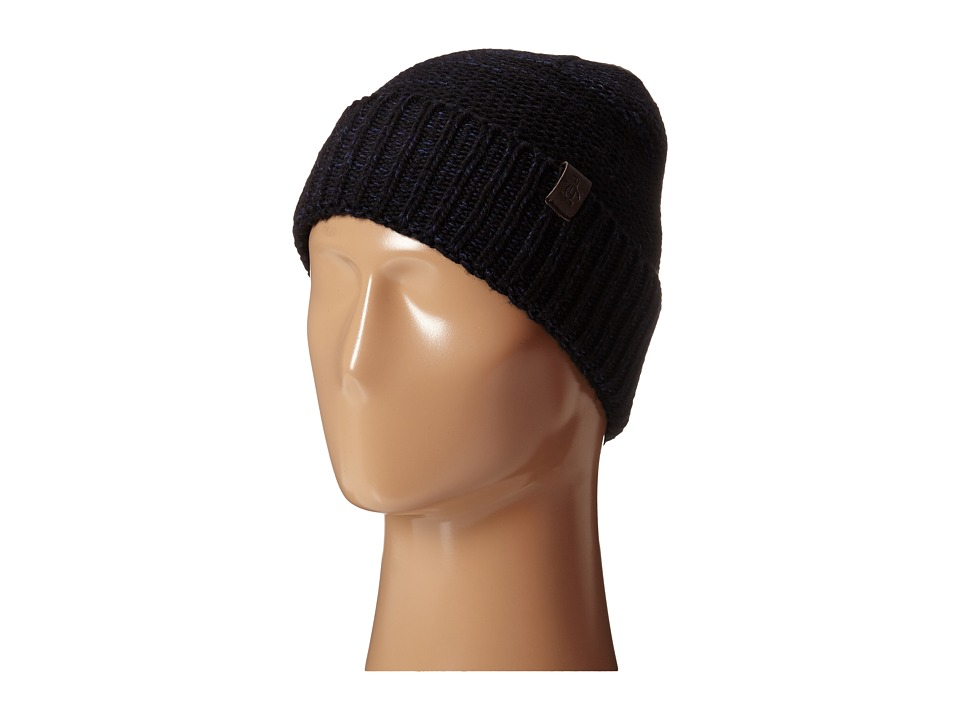 Original Penguin - Variegated Knit Watch Cap (Black) Caps