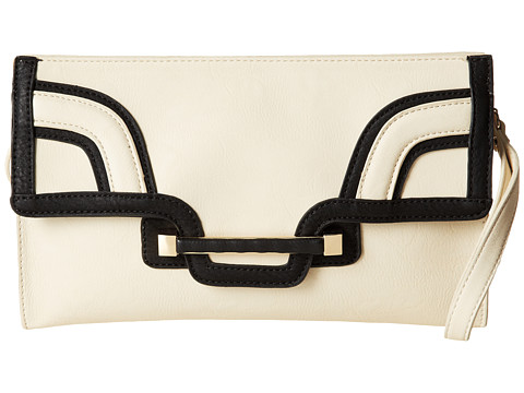 Big Buddha - Lia (Bone) Clutch Handbags