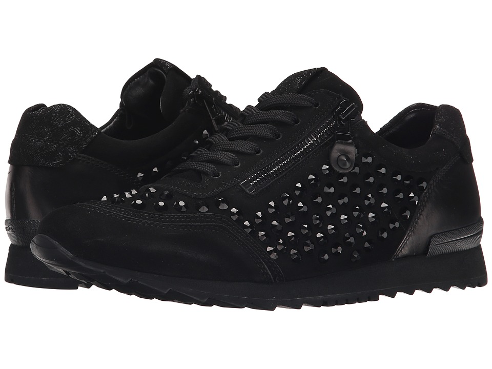 Kennel & Schmenger - Crystal Stud Sneaker (Schwarz) Women's Shoes