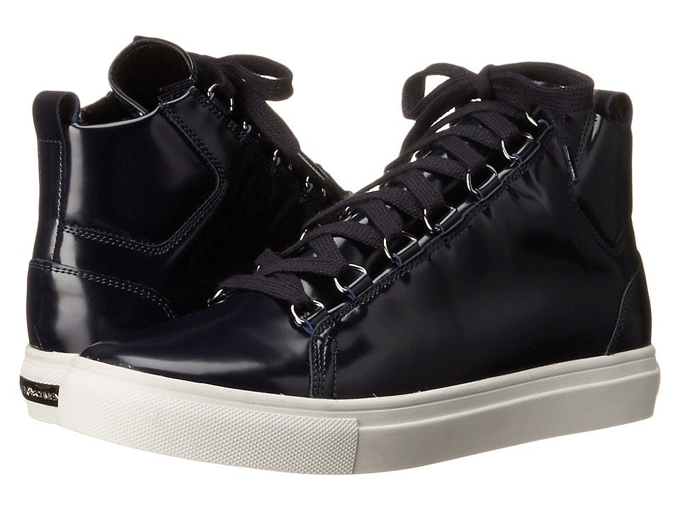 Kennel & Schmenger - Brush Shine High Top Sneaker (Ocean) Women's Shoes