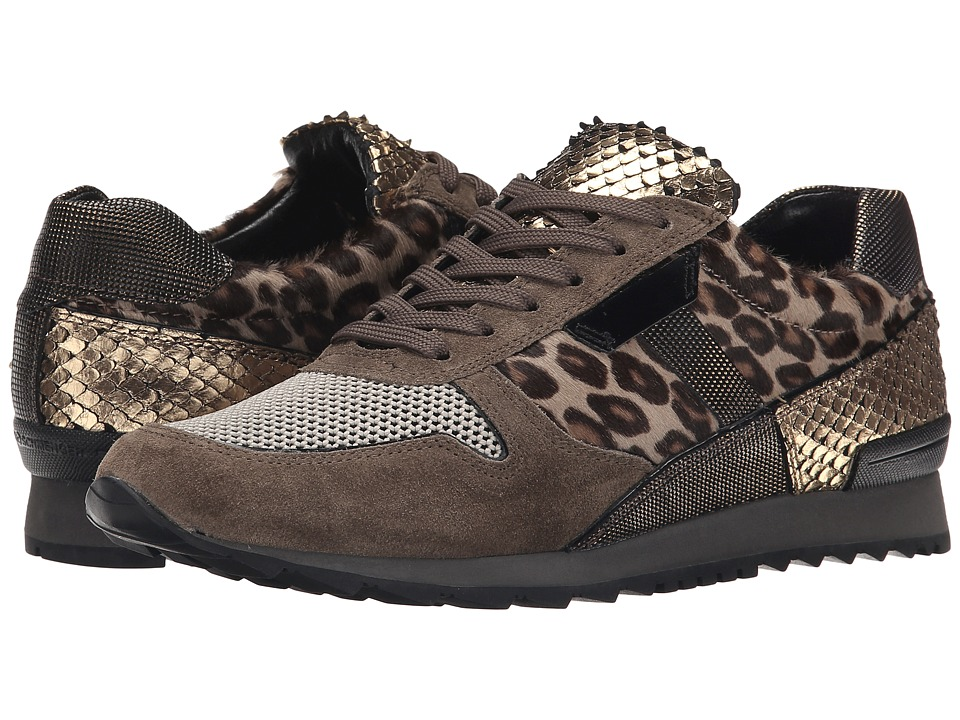 Kennel & Schmenger - Leo Haircalf Trainer (Leopard Multi) Women's Shoes