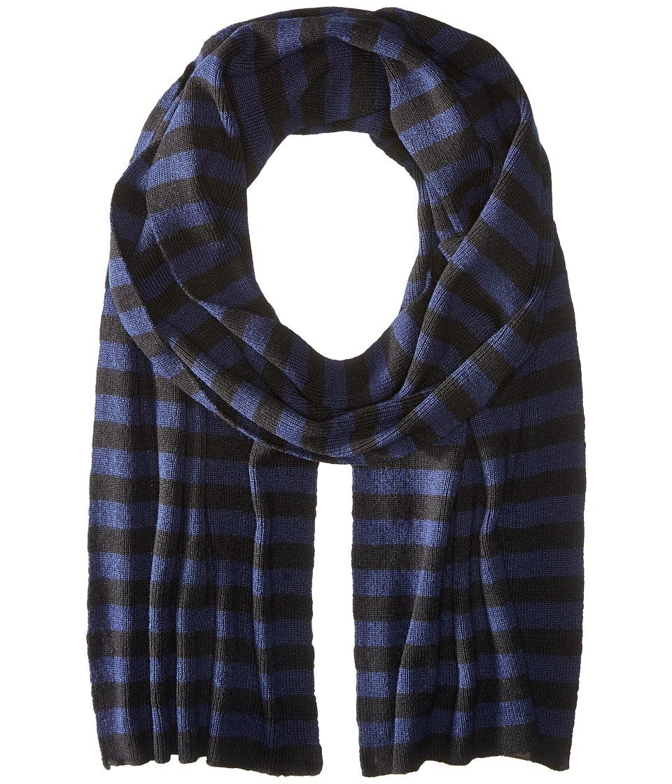 Original Penguin - Bailey (Black/Navy) Scarves
