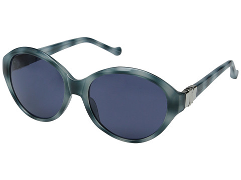 Ivanka Trump - IT 060 (Teal Horn) Fashion Sunglasses