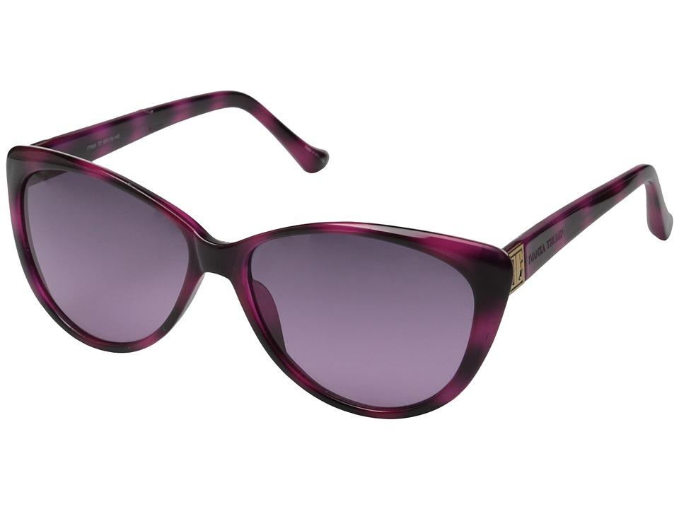 Ivanka Trump - IT 069 (Magenta/Havana) Fashion Sunglasses