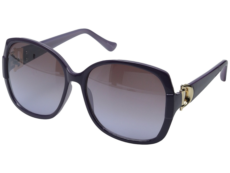 Ivanka Trump - IT 036 (Purple) Plastic Frame Fashion Sunglasses