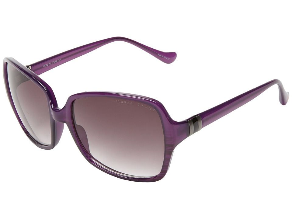 Ivanka Trump - IT 022 (Purple Horn) Fashion Sunglasses