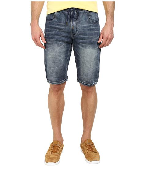 Seven7 Jeans - Knit Denim Shorts in Brocade Blue (Brocade Blue) Men