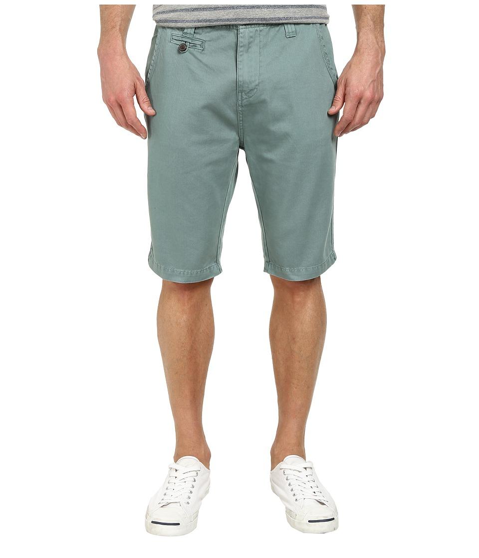 Seven7 Jeans - Twill Flat Front Short (Mint) Men's Shorts