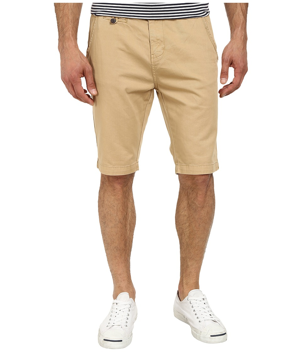 Seven7 Jeans - Twill Flat Front Short (Sahara Blue) Men's Shorts