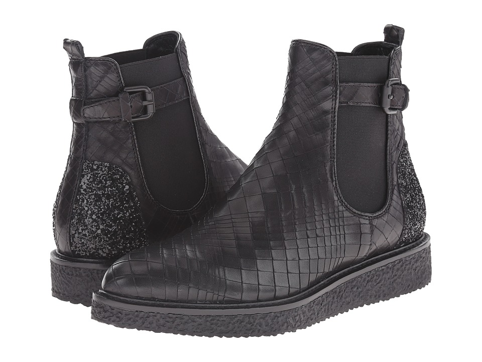 Kennel & Schmenger - Mary Flatform Ankle Boot (Schwarz) Women