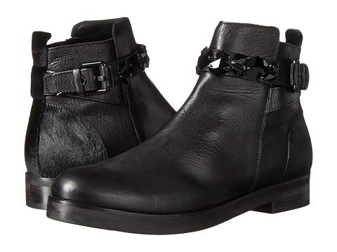Kennel & Schmenger - Jess Smooth Calf Ankle Boot (Schwarz) Women's Zip Boots
