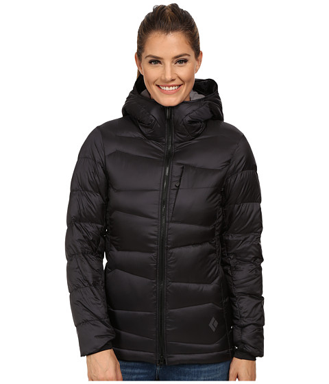 Black Diamond - Cold Forge Parka (Black) Women's Clothing