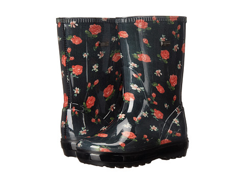 Dolce & Gabbana - Back To School Plaid Rain Boot (Toddler/Little Kid/Big Kid) (Rose Printed) Women