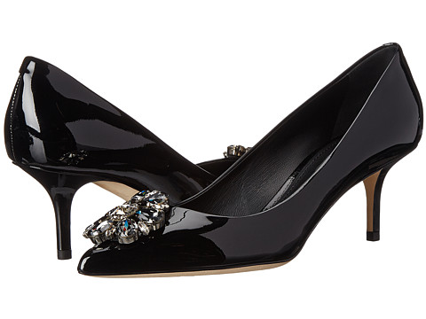 Dolce & Gabbana - Decollete Vernice (Nero) High Heels