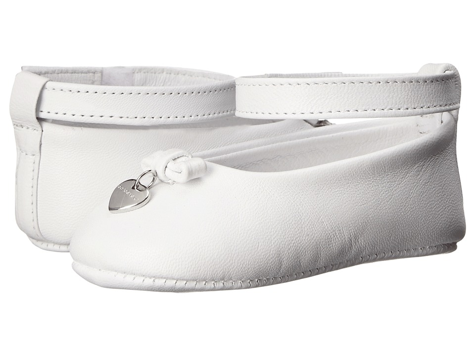 Dolce & Gabbana - Mediterranean Ballet Flat (Infant/Toddler) (White) Women
