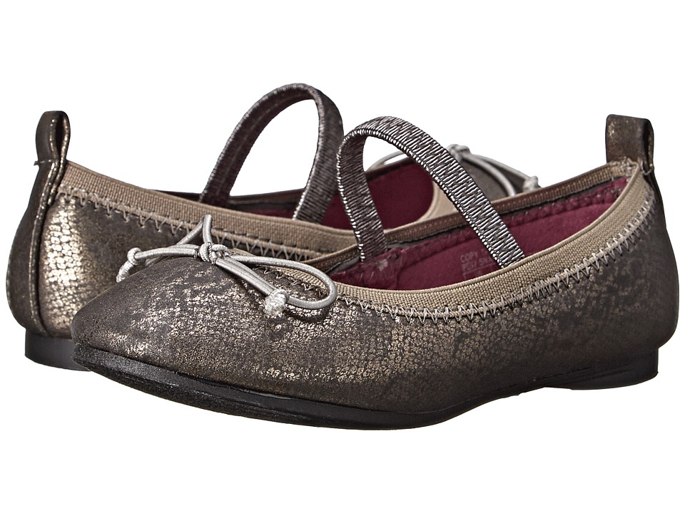 Kenneth Cole Reaction Kids - Copy Tap 2 (Toddler/Little Kid) (Pewter Snake) Girls Shoes