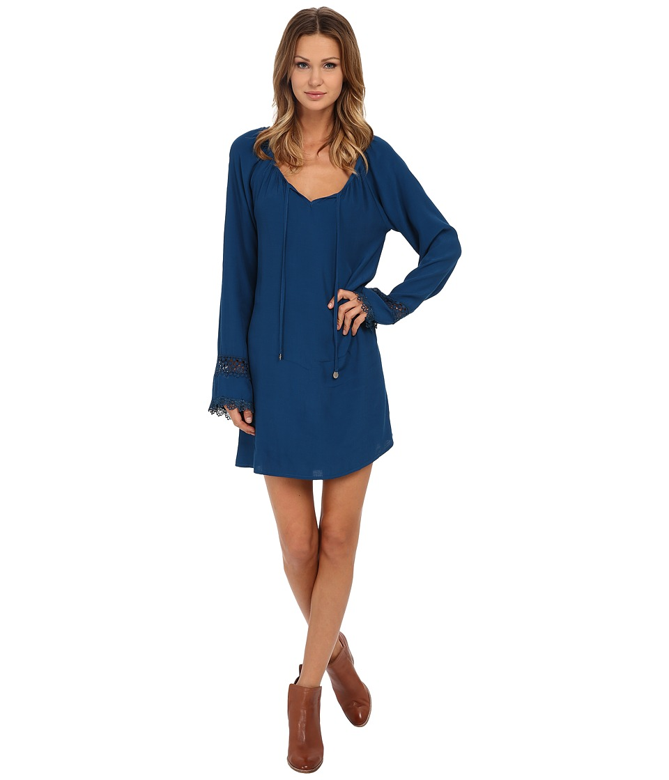 Lucy Love - Leah Dress (Peacock Blue) Women's Dress