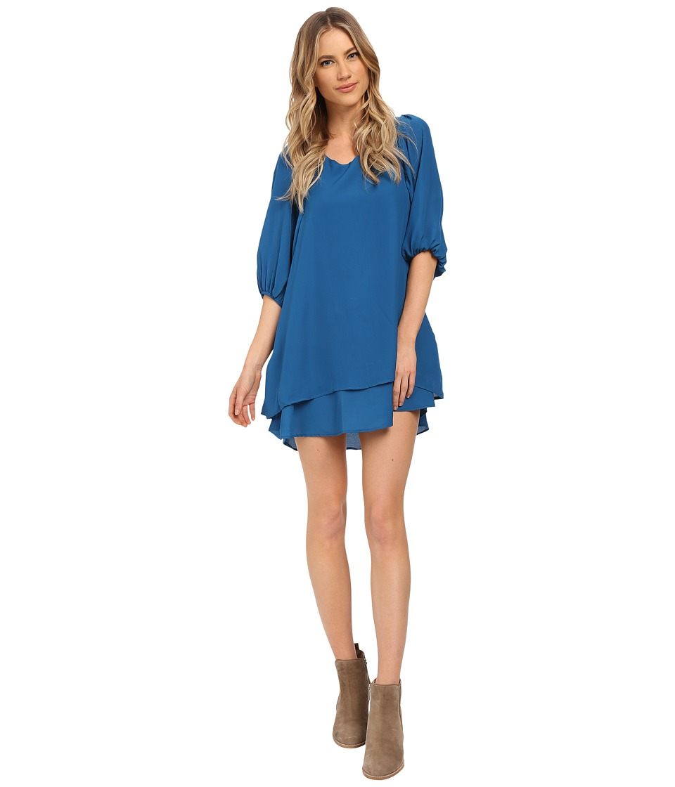 Lucy Love - Gabrielle Dress (Peacock Blue) Women's Dress