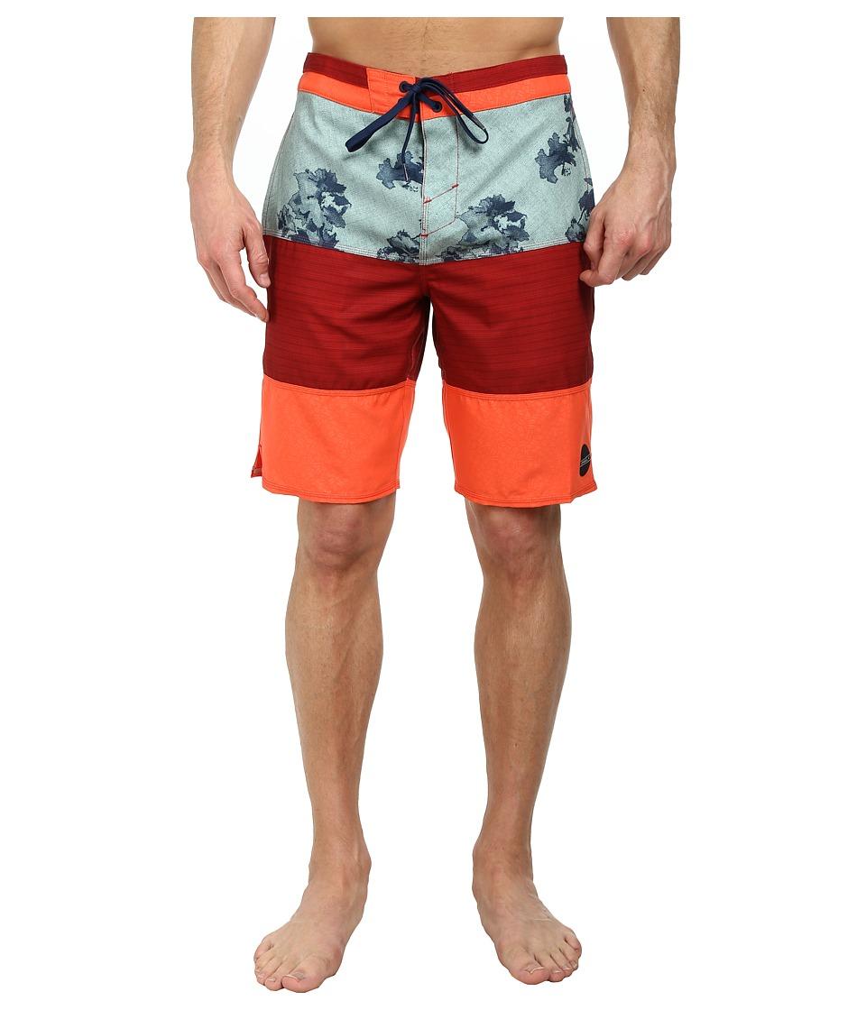 O'Neill - Impression Boardshorts (Neon Red) Men's Swimwear
