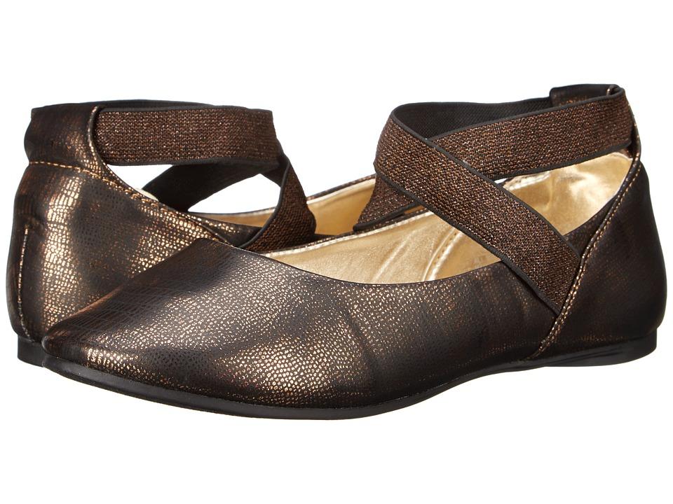 Kenneth Cole Reaction Kids - Tap UR It (Little Kid/Big Kid) (Bronze) Girls Shoes