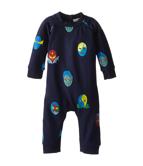Stella McCartney Kids - Jimbo Super Stella Hero Fleece All In One (Infant) (Blue) Boy's Jumpsuit & Rompers One Piece