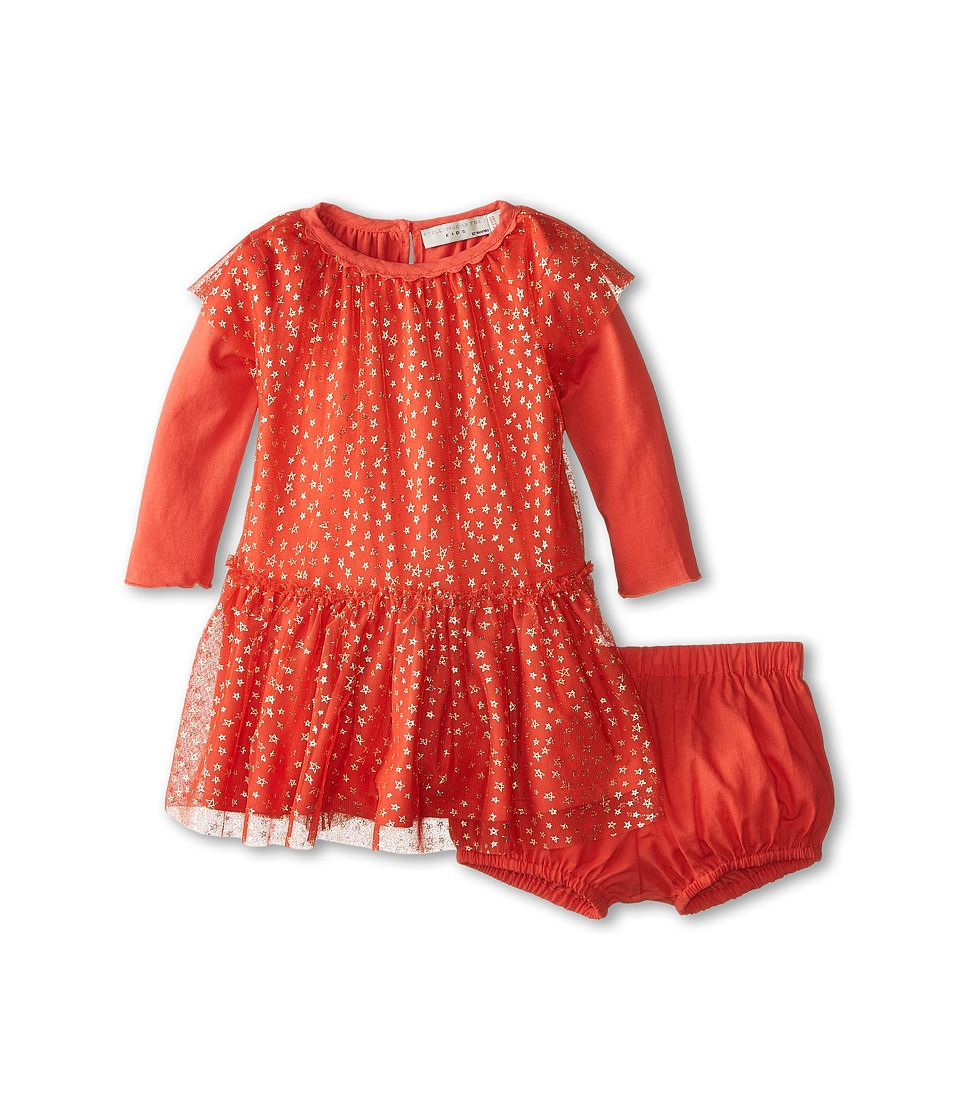 Stella McCartney Kids - Mouse Tulle Dress with Stars (Infant) (Red) Girl's Dress