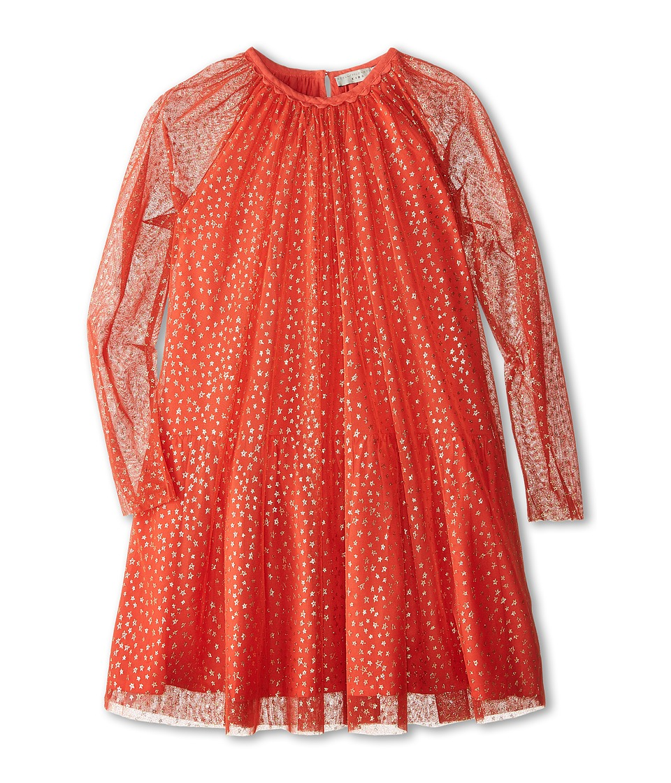 Stella McCartney Kids - Misty Tulle Dress with Stars (Toddler/Little Kids/Big Kids) (Red) Girl's Dress