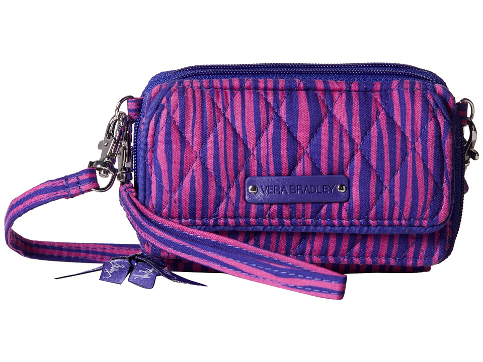 Vera Bradley - All In One Crossbody (Impressionista Stripe) Cross Body Handbags