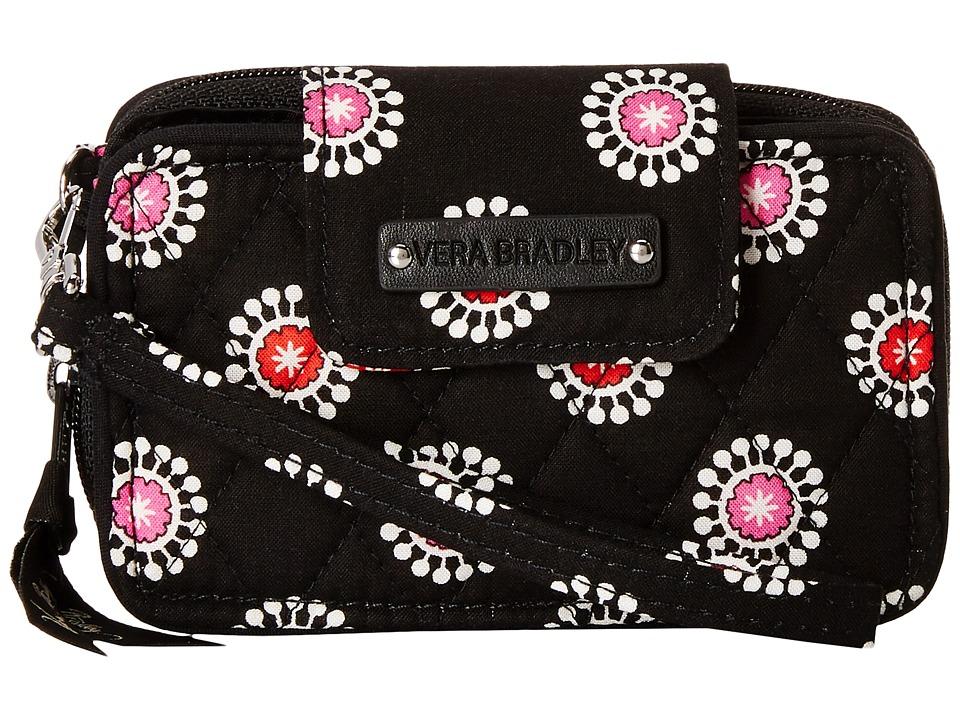 Vera Bradley - Smartphone Wristlet 2.0 (Parisian Pom Poms) Wristlet Handbags
