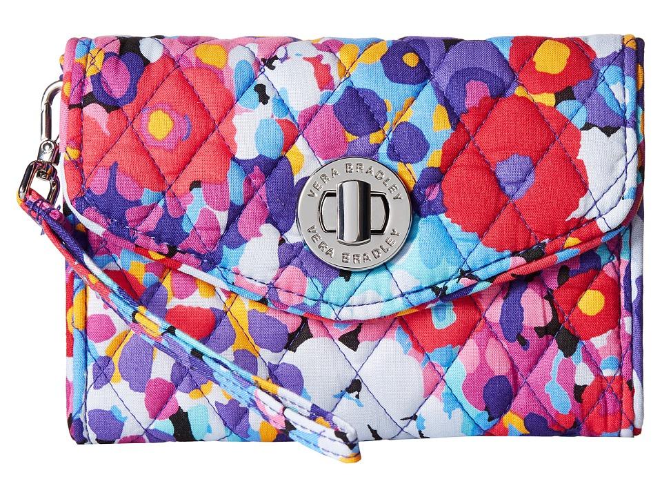 Vera Bradley - Your Turn Smartphone Wristlet (Impressionista) Wristlet Handbags