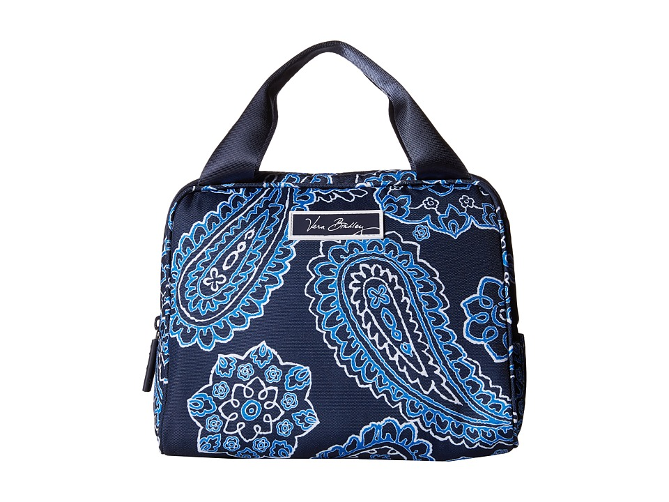 Vera Bradley - Lighten Up Lunch Cooler (Blue Bandana) Handbags