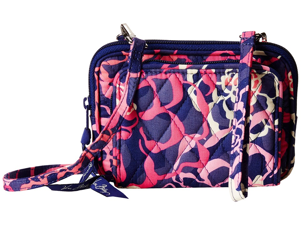 Vera Bradley - On The Square Wristlet (Katalina Pink) Wristlet Handbags
