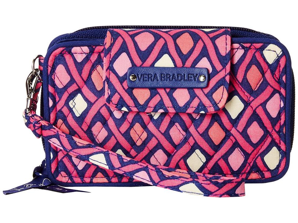 Vera Bradley - Smartphone Wristlet 2.0 (Katalina Pink Diamonds) Wristlet Handbags