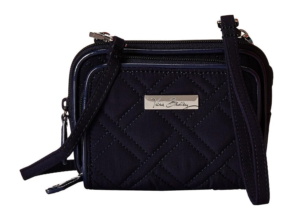 Vera Bradley - On The Square Wristlet (Classic Navy/Navy) Wristlet Handbags