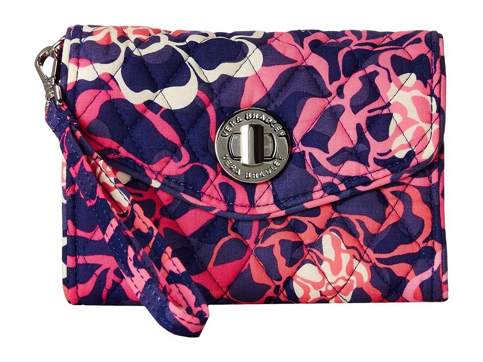 Vera Bradley - Your Turn Smartphone Wristlet (Katalina Pink) Wristlet Handbags