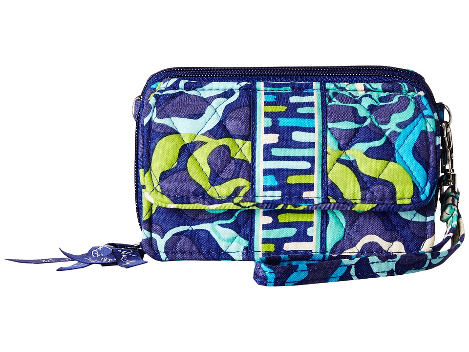 Vera Bradley - All In One Crossbody (Katalina Blues) Cross Body Handbags