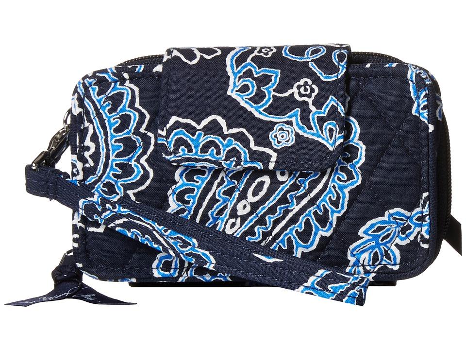 Vera Bradley - Smartphone Wristlet 2.0 (Blue Bandana) Wristlet Handbags
