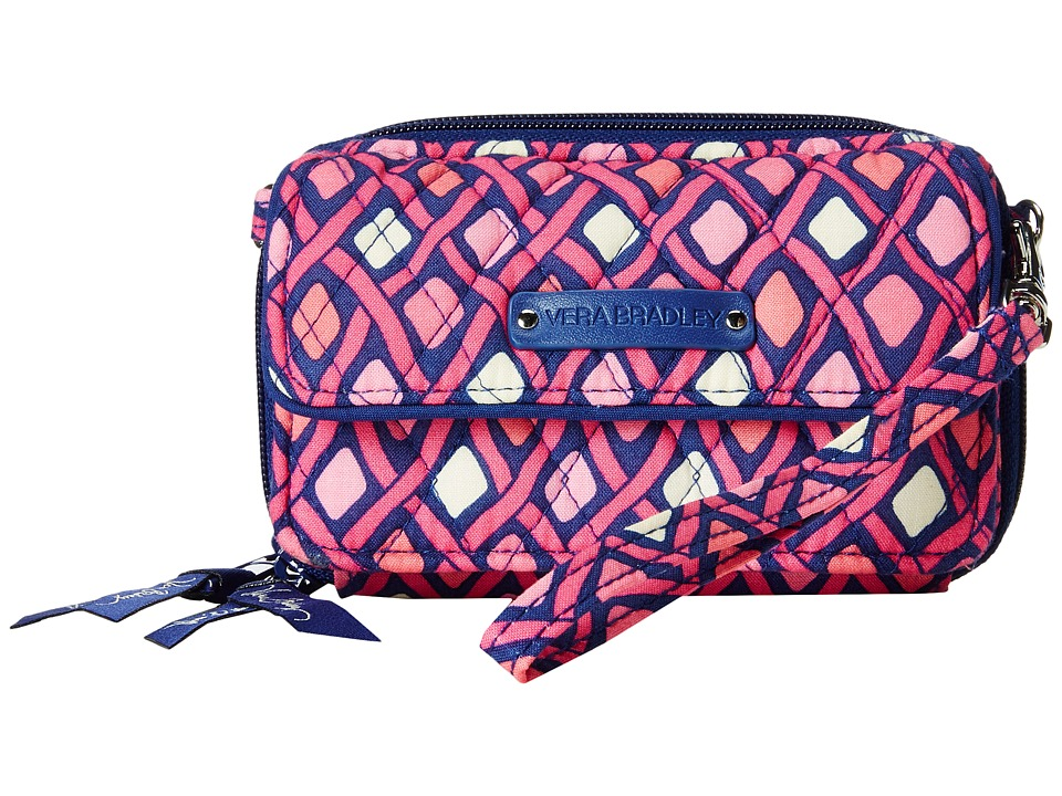 Vera Bradley - All In One Crossbody (Katalina Pink Diamonds) Cross Body Handbags
