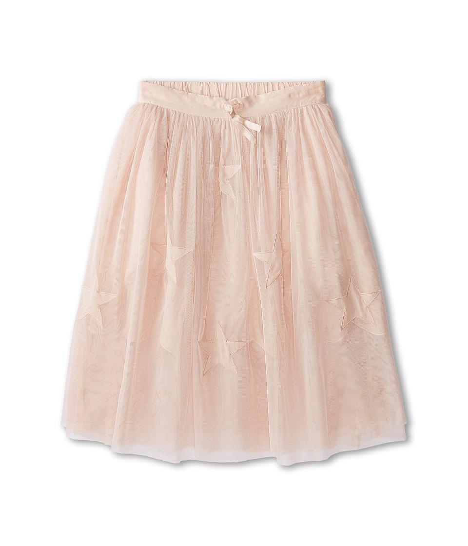Stella McCartney Kids - Amalie Long Tulle Skirt with Stars (Little Kids/Big Kids) (Pink) Girl's Skirt