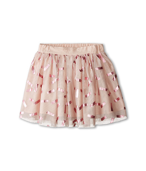 Stella McCartney Kids - Honey Tulle Skirt with Tic Tac Print (Little Kids/Big Kids) (Pink) Girl