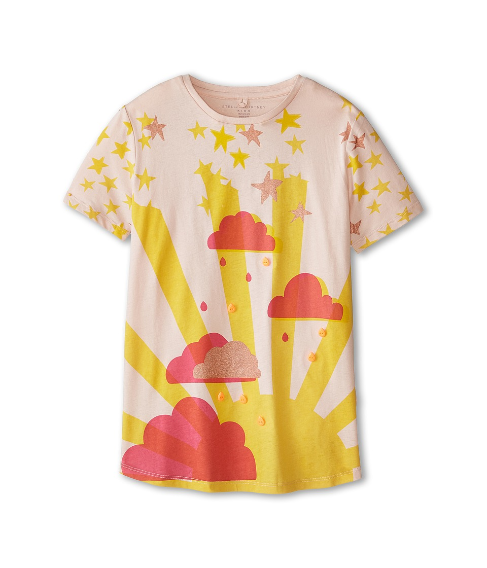 Stella McCartney Kids - Arlo Cloud T-Shirt with Jewels (Toddler/Little Kids/Big Kids) (Pink) Girl's T Shirt