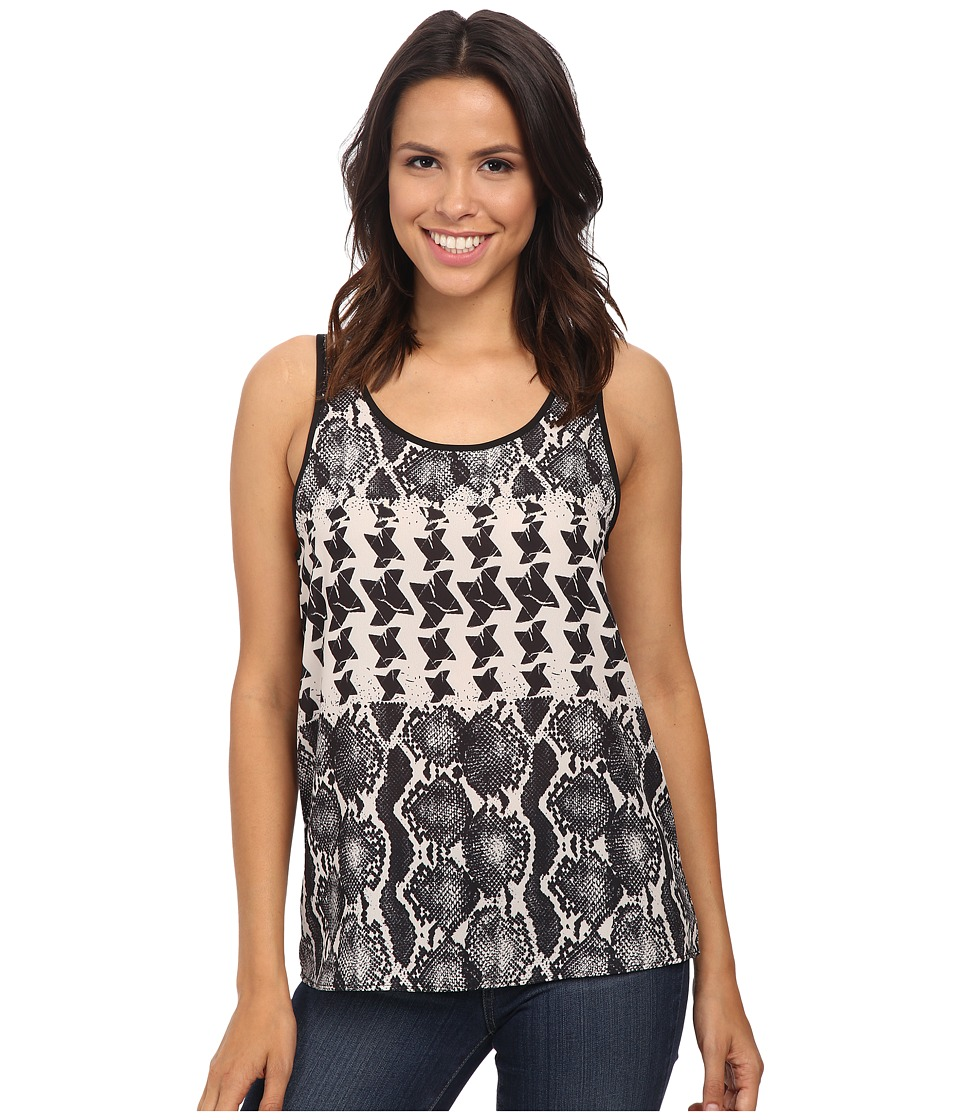 Rock and Roll Cowgirl - Sleeveless Top B5-4460 (Black) Women's Sleeveless