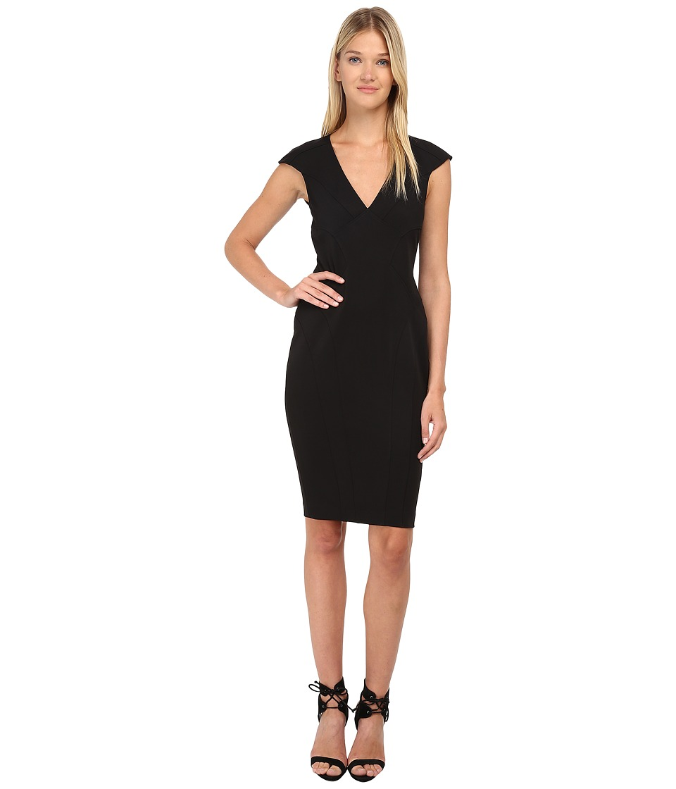 ZAC Zac Posen - ZP-01-5196-22 (Onyx) Women's Dress