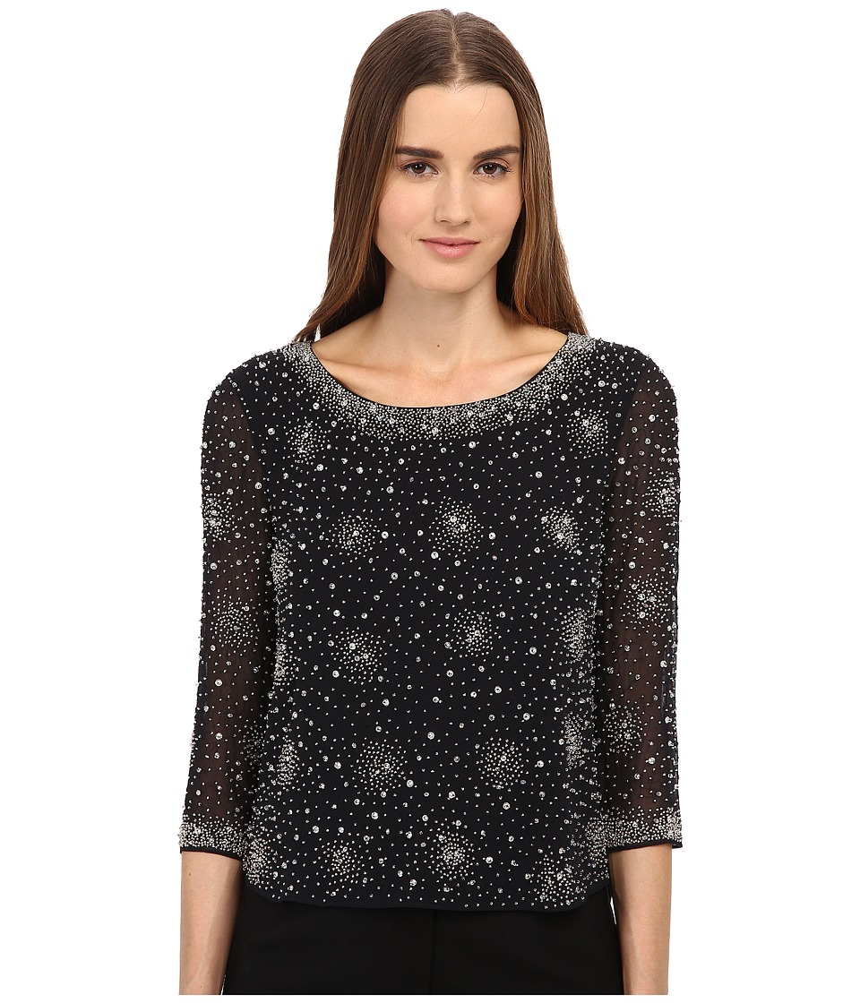 ZAC Zac Posen - ZP-19-6059-22 (Onyx Multi) Women's Long Sleeve Pullover